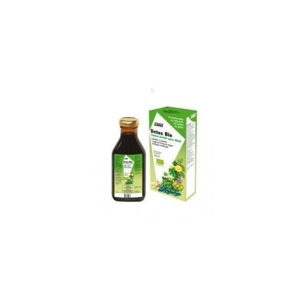 Detox Bio, Tónico Herbal, 250 ml - Salus