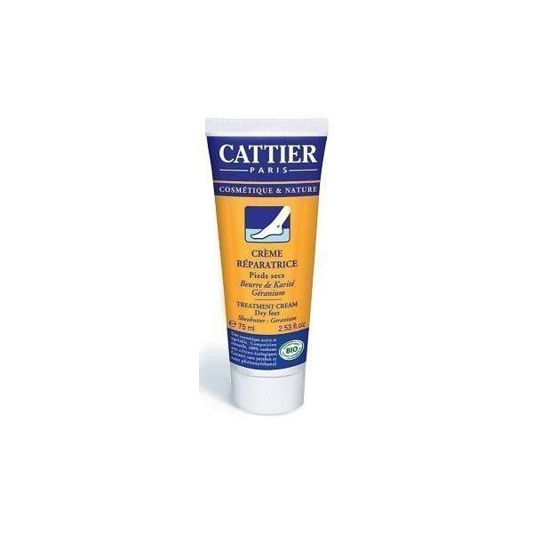 Crema Reparadora Pies Secos BIO, 75 ml - Cattier