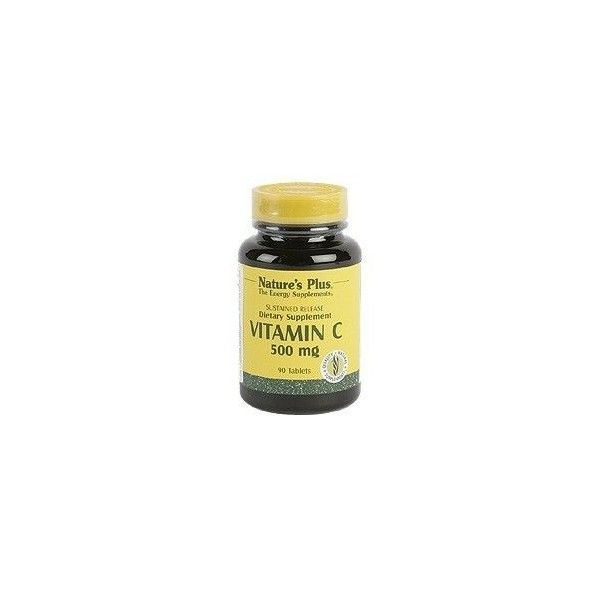 Vitamina C 500 mg, 90 comprimidos - Natures Plus
