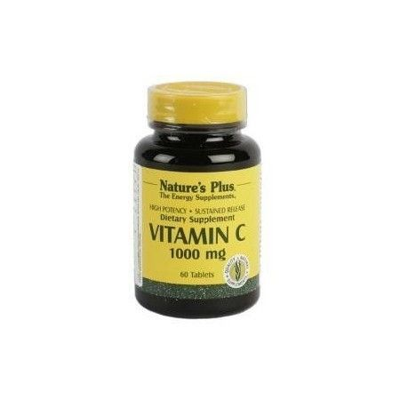 Vitamina C, 1000 mg, 60 comprimidos - Natures Plus