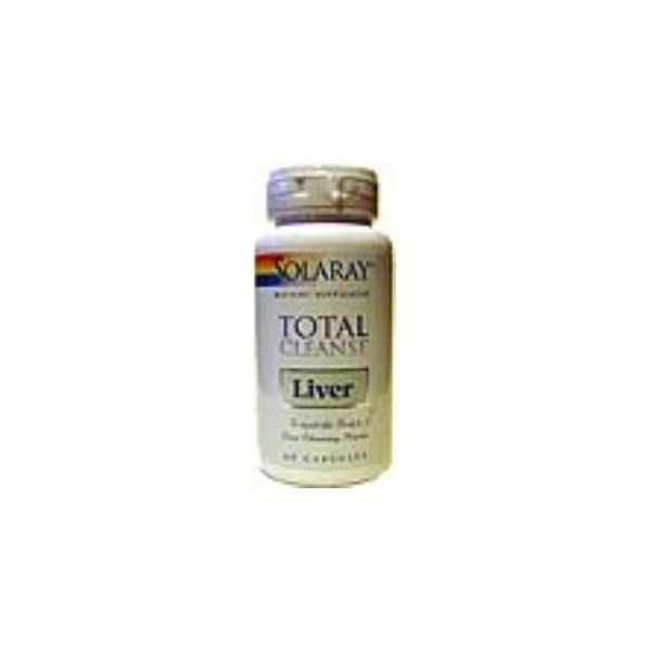 Total Cleanse Liver, 60 cápsulas - Solaray