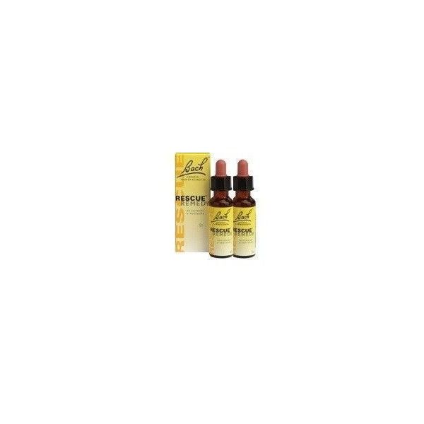 PACK 2 RESCUE REMEDY DR. BACH, 20 ml-15%