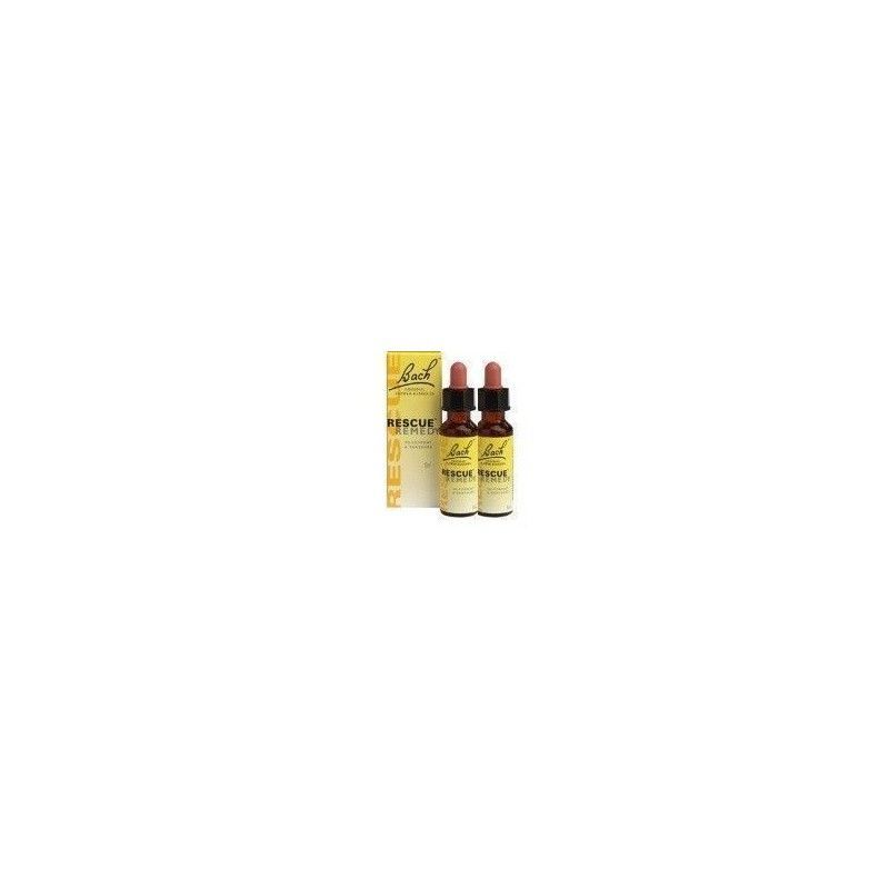 PACK 2 RESCUE REMEDY DR. BACH, 20 ml