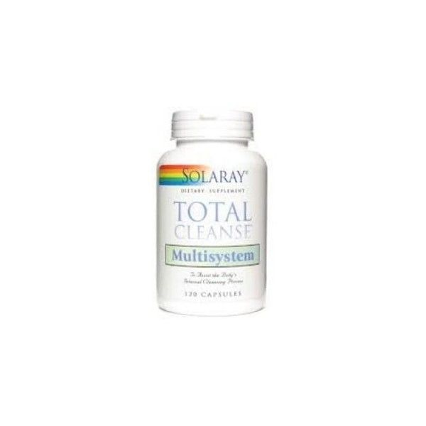 Total Cleanse Multisystem, 120 cápsulas - Solaray