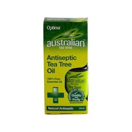Aceite de Árbol de Té 100% Puro, 25 ml - Optima