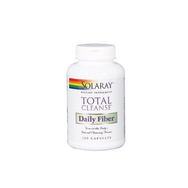 Total Cleanse Fiber, 120 cápsulas - Solaray
