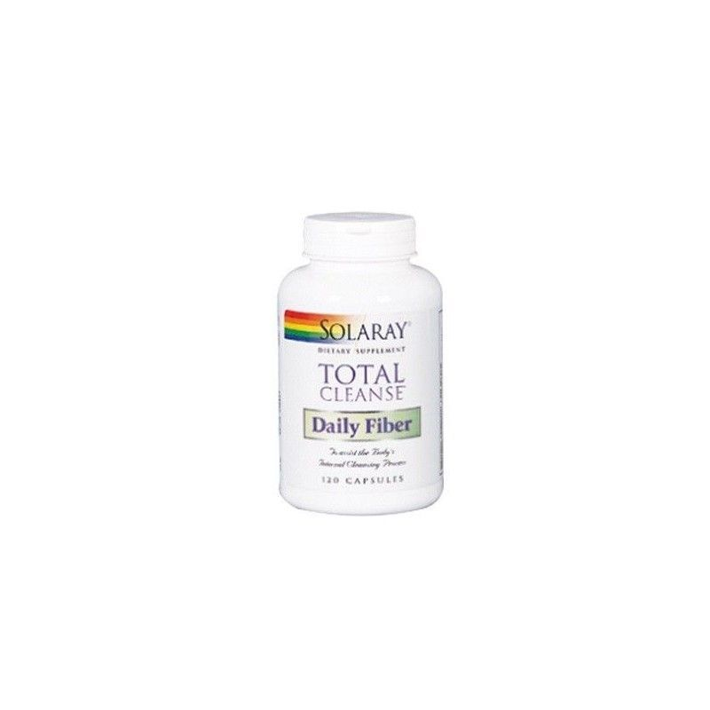 Total Cleanse Daily Fiber, 120 cápsulas - Solaray