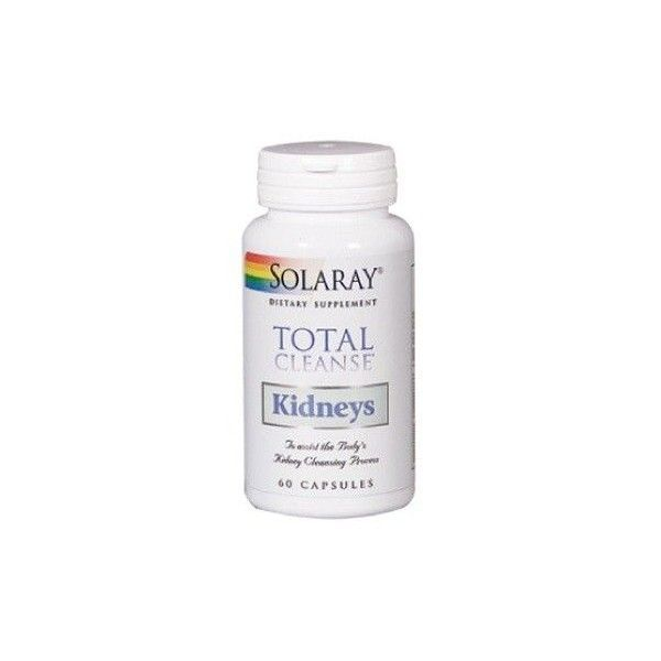Total Cleanse Kidney, 60 cápsulas - Solaray
