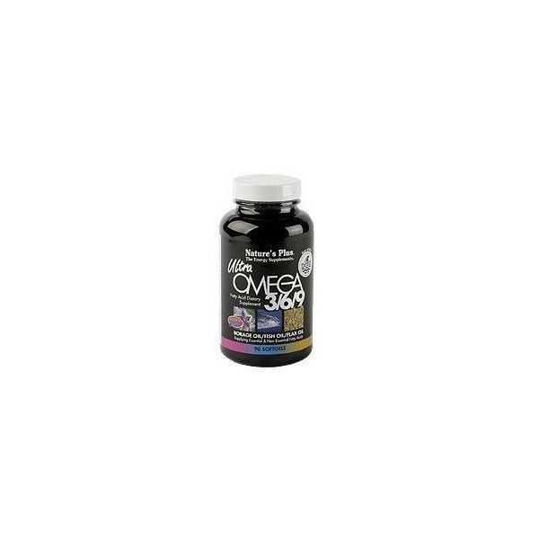 Ultra Omega 3/6/9, 90 perlas - Natures Plus