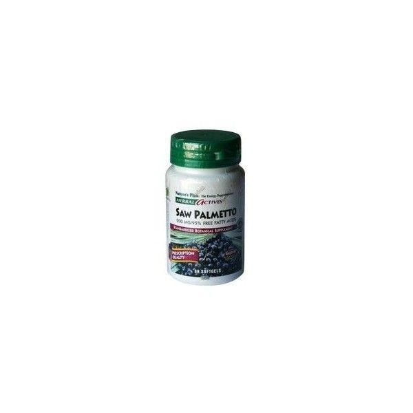 Palmito Salvaje (Saw Palmetto) 200 mg, 60 perlas - Natures Plus