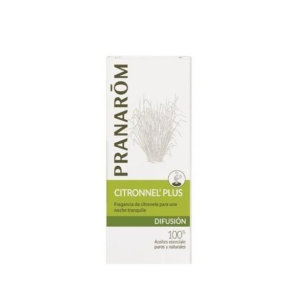 Mezcla para Difusores Citronnel Plus, 30 ml - Pranarom