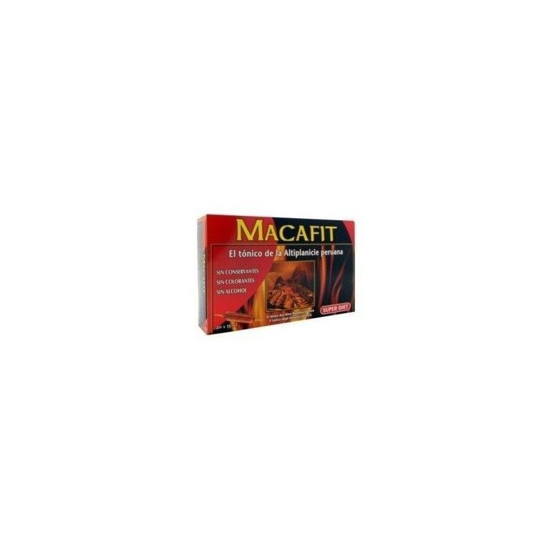 Macafit Bio, 2100 mg, 20 ampollas - Super Diet