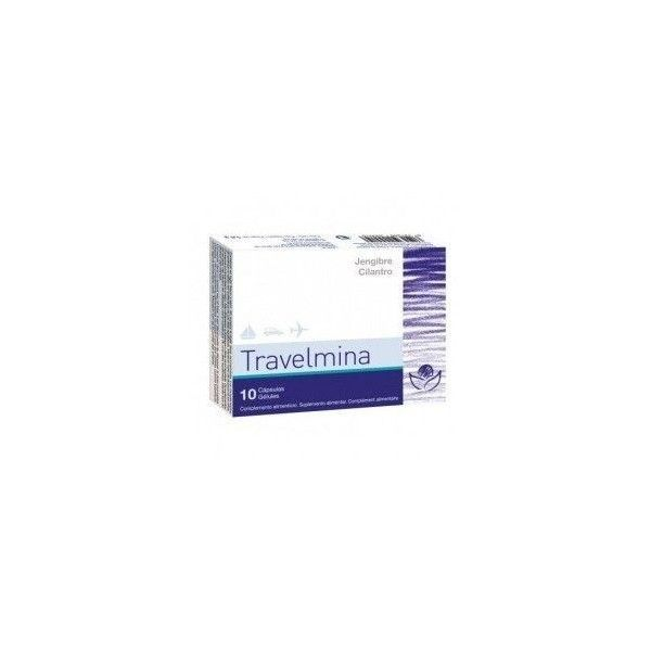 Travelmina, 10 cápsulas - Bioserum