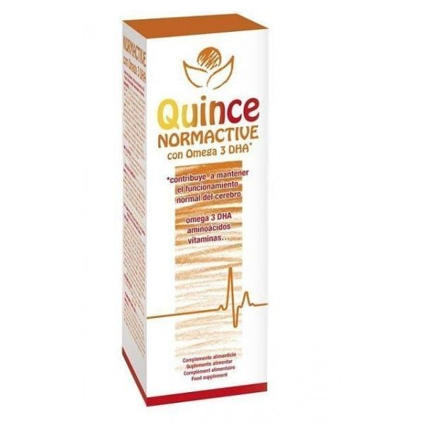 Quince Normactive - DHA, Jarabe 250 ml - Bioserum