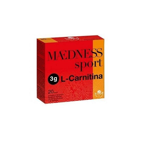 L-Carnitina Maedness Sport, 3 g, 20 sticks - Bioserum