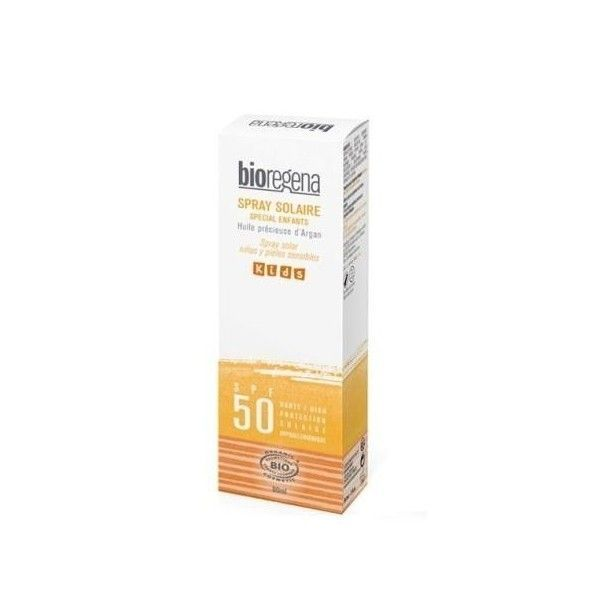Spray Solar Niños Bio SPF 50, 90 ml - Bioregena