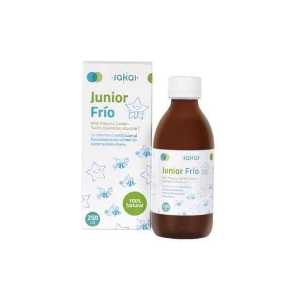 Junior Frío Jarabe 250 ml - Sakai