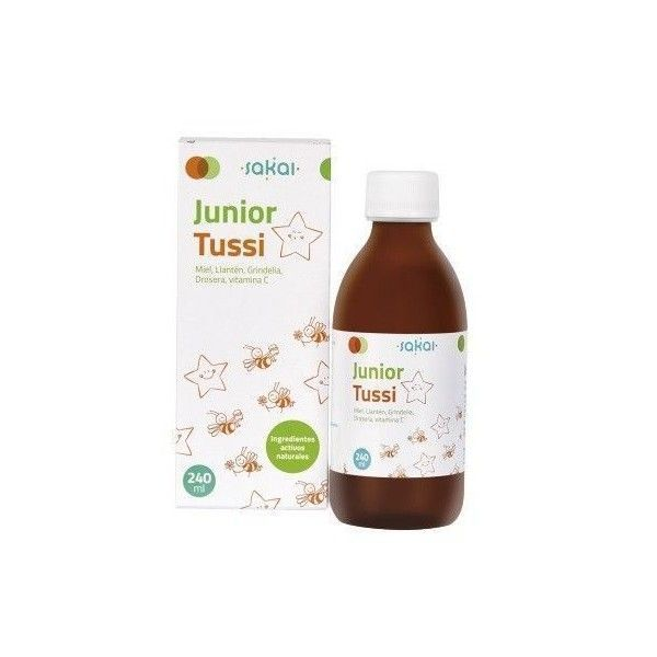 Junior Tussi Jarabe 240 ml - Sakai