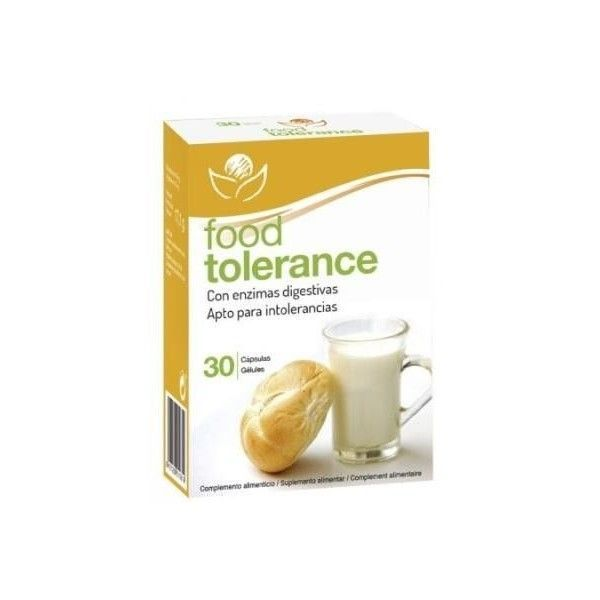Food Tolerance, 30 cápsulas - Bioserum