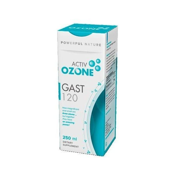 ActivOzone Gast 120, 250 ml - KeyBiological