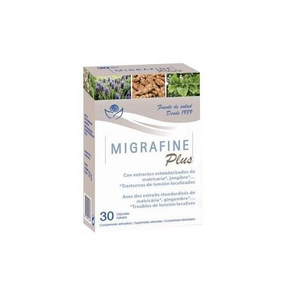 Migrafine Plus, 30 cápsulas - Bioserum