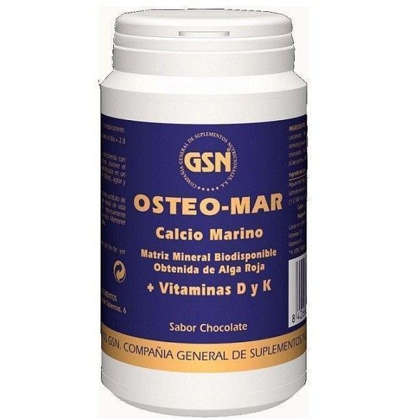Osteo-MAR, 169 g Sabor Chocolate - GSN