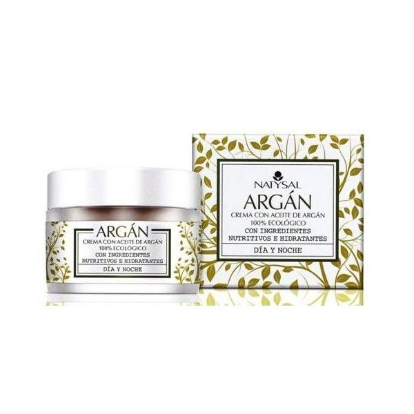 Crema Natural de Argán, 50 ml - Natysal