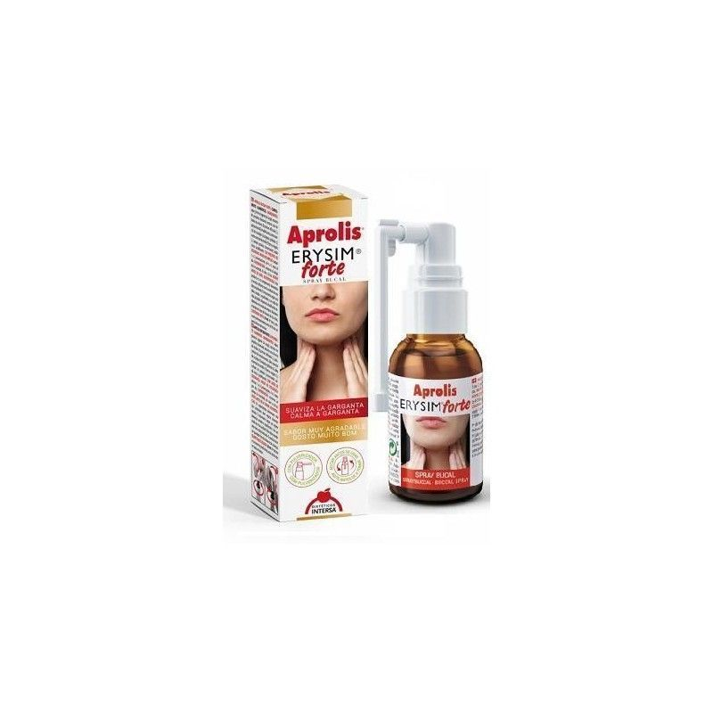 Aprolis Erysim Forte, spray bucal 20 ml - Intersa