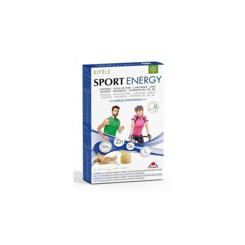 Sport Energy Bipôle, 20 ampollas - Intersa