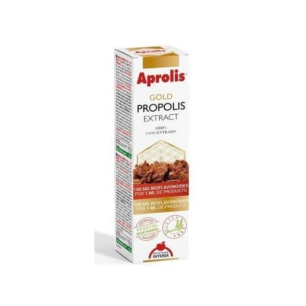 Aprolis GOLD Extracto de Propóleo Concentrado, gotas 30 ml - Intersa