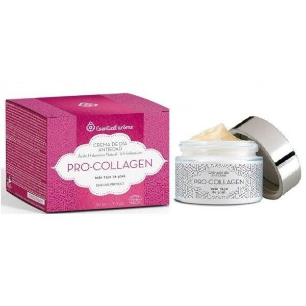 Crema de Día Antiedad Pro-Collagen, 50 ml - Esential Aroms