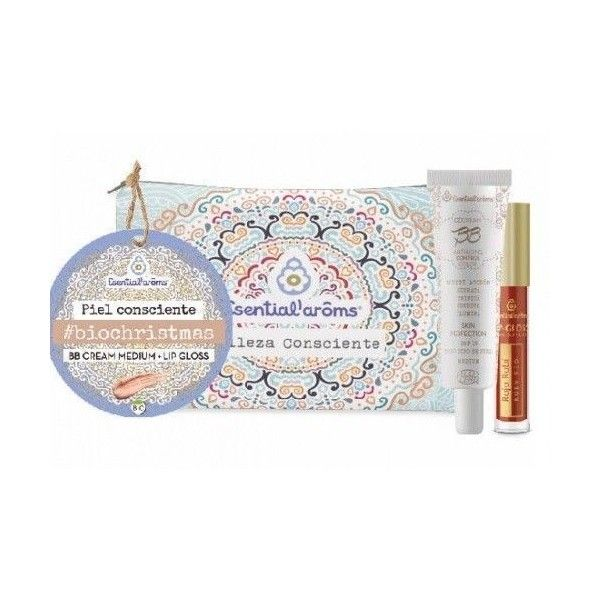 Pack BB Cream Medium + Lip-Gloss + Neceser - Esential Aroms