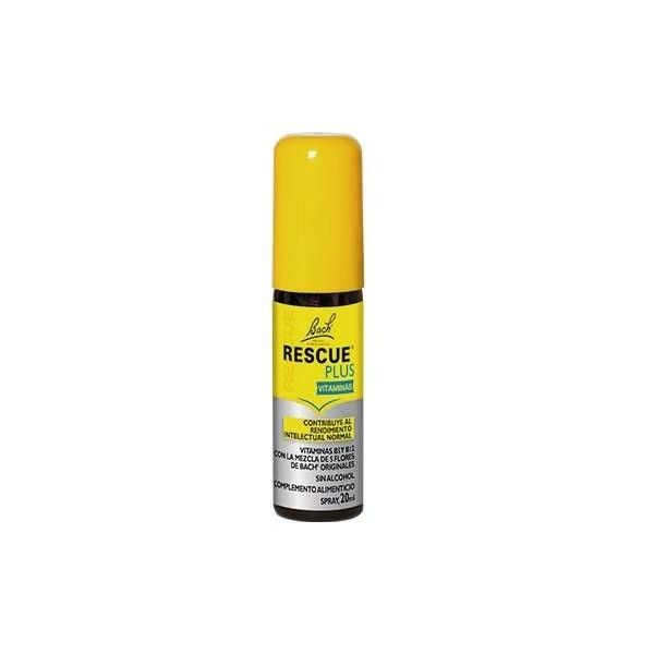 Rescue Plus Vitaminas Dr. Bach, Spray 20 ml
