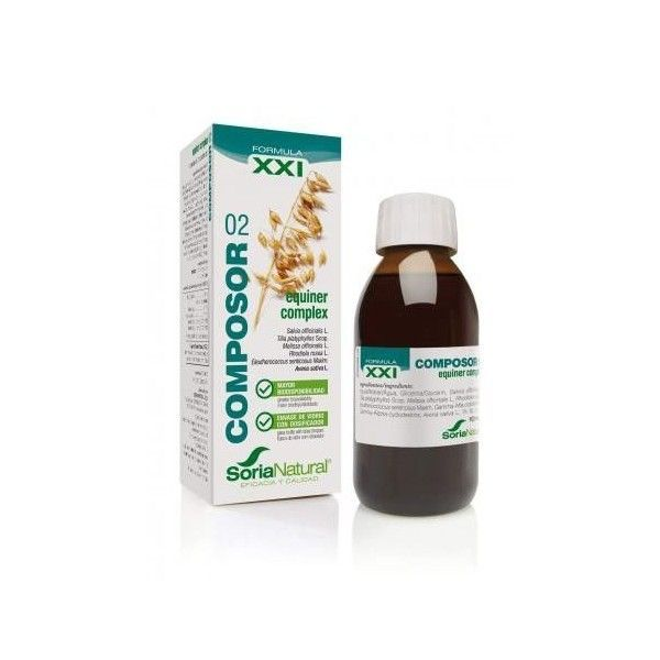Composor 02 - Equiner Complex XXI, 100 ml - Soria Natural