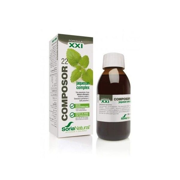 Composor 22 - Melisa Complex, 50 ml - Soria Natural