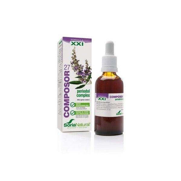 Composor 27 - Periodol Complex, 50 ml - Soria Natural