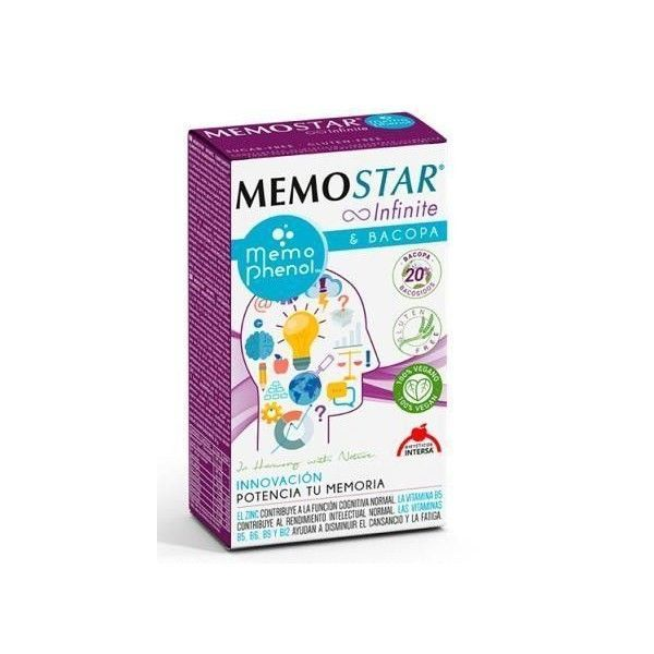Memostar Infinite, 60 cápsulas - Intersa