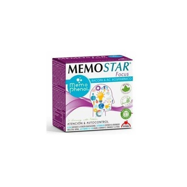 Memostar Focus, 30 sobres - Intersa
