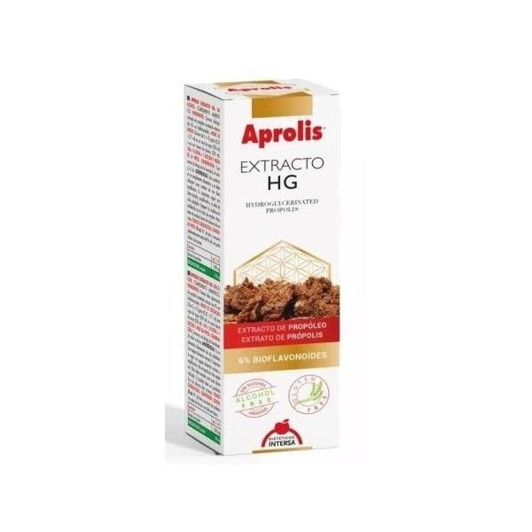Aprolis Extracto de Propóleo HG, Sin Alcohol, 50 ml - Intersa