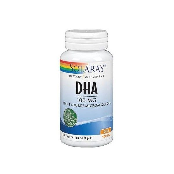 DHA Neuromins, 100 MG, 30 perlas - Solaray