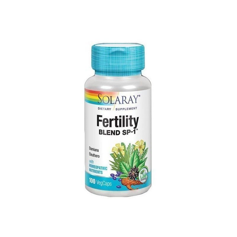 Fertility Blend, 100 cápsulas - Solaray
