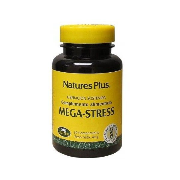 Mega-Stress, 30 comprimidos - Natures Plus