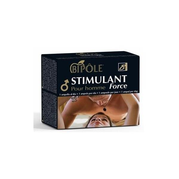 Bipôle Stimulant Force (para hombre), 12 ampollas - Intersa