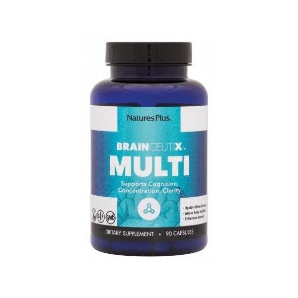 BrainCeutix Multi, 90 cápsulas - Natures Plus