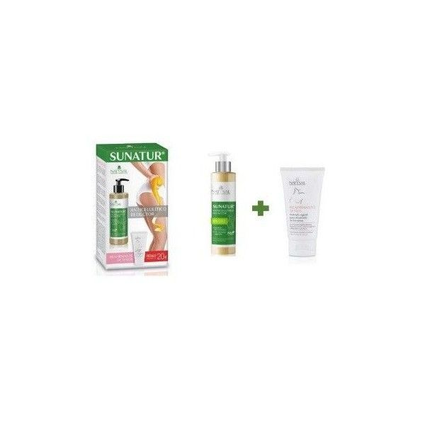 Pack Sunatur Anticelulítico, 300 ml + Crema Reafirmante de Senos 125 ml- Natysal