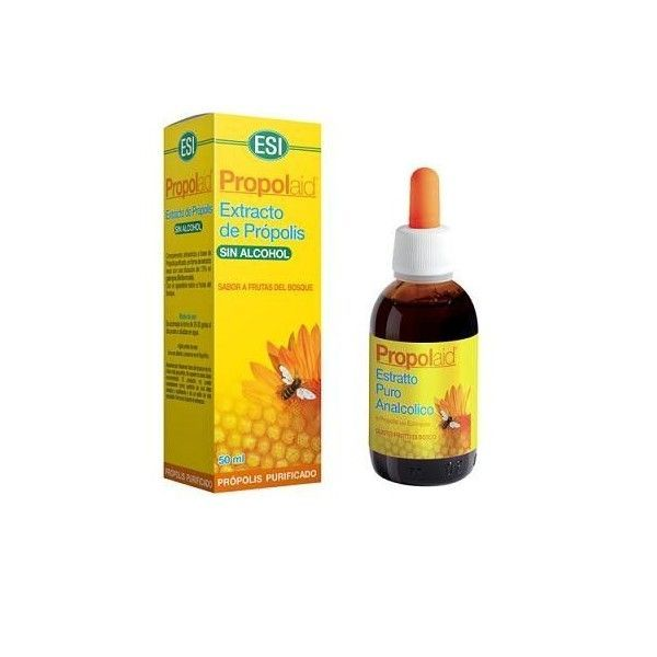 Propolaid Extracto de própolis sin alcohol, 50 ml - Trepat Diet