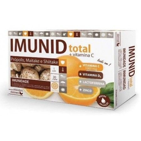 Imunid Total, 20 ampollas - Dietmed