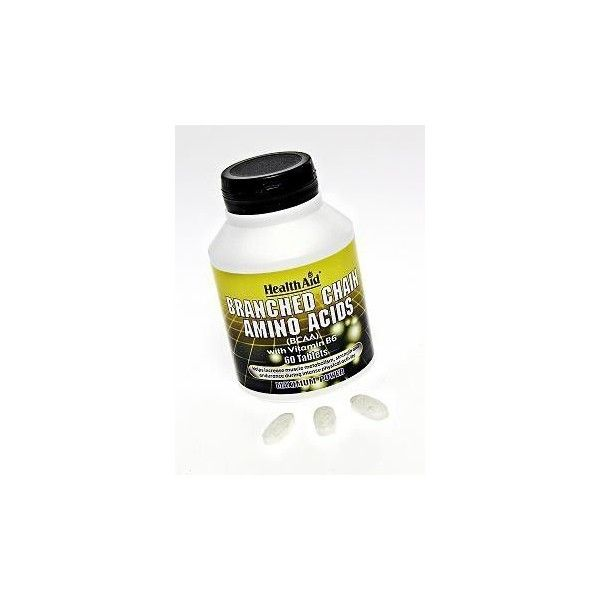 BCAA (Branched Chain Amino Acids), 60 comprimidos - Health Aid