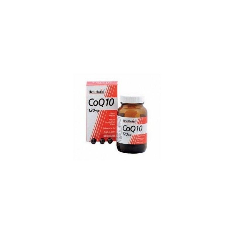 Co-Q-10, 120 mg, 30 perlas - Health Aid