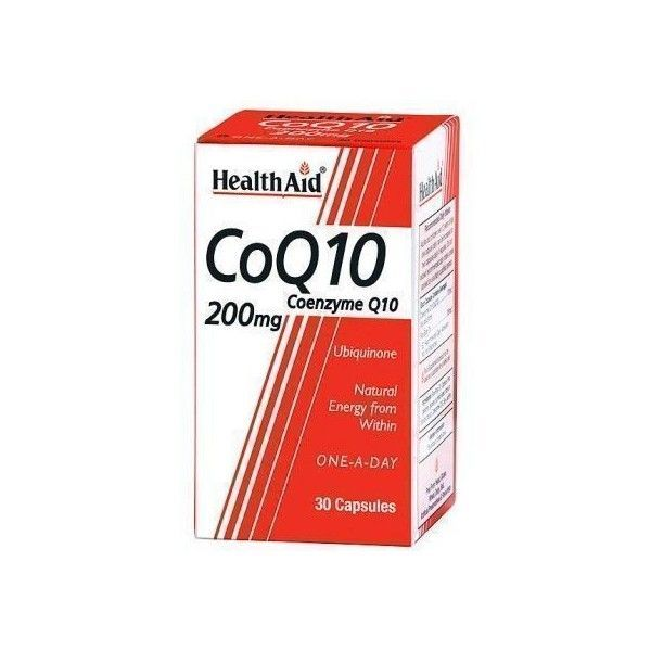 Co-Q-10, 200 mg, 30 perlas - Health Aid